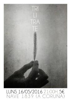 TRILITRATE CARTEL CORUÑA